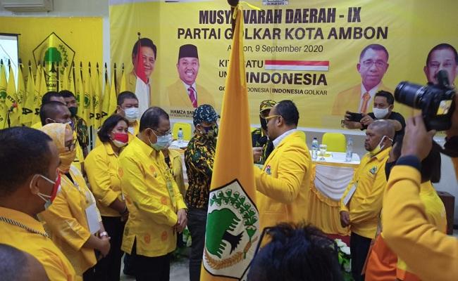 Richard Louhenapessy Keberatan Diusung Jadi Jagoan Golkar di Pilgub Maluku Mendatang