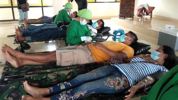 HUT Ke-76 RI, Golkar Sumbangkan 100 Kantong Darah ke PMI Gianyar