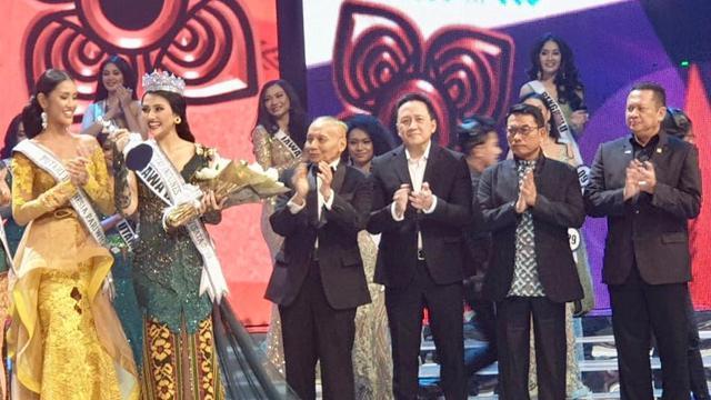 Bamsoet Harap Puteri Indonesia Bisa Jadi Duta Empat Pilar MPR
