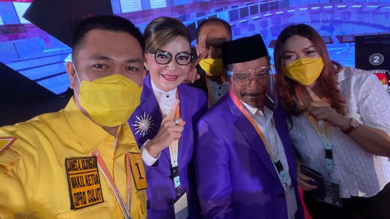 Dipercaya Bawa Sulut Bangkit, Kemenangan Tetty Paruntu-Sehan Landjar Di Depan Mata