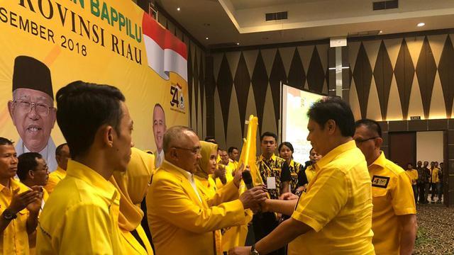 Kumpulkan 2,4 Miliar, KPU Sebut Dana Kampanye Golkar Tertinggi di Riau