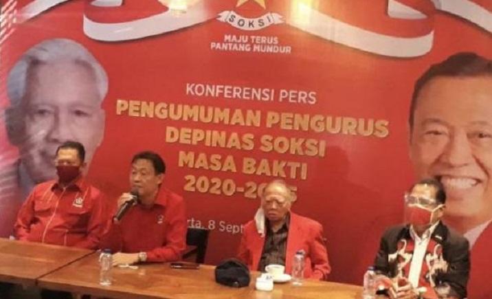 Bertabur Bintang, Ini Struktur Kepengurusan Depinas SOKSI Periode 2020-2025
