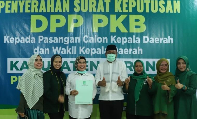 Koalisi Gemuk, Sembilan Parpol Usung Ratu Tatu Chasanah di Pilbup Serang 2020