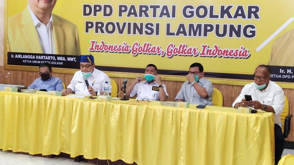 Golkar Lampung Optimis Tony Eka Candra Bakal Menangkan Pilkada Lampung Selatan