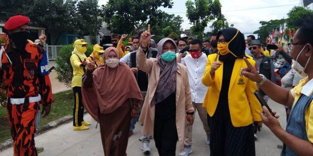 Blusukan di Rancaekek, NU Pasti Targetkan Kemenangan 70 Persen di Pilkada Kabupaten Bandung