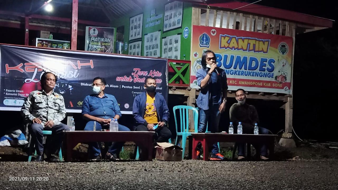 Gandeng KIS, Andi Rio Idris Padjalangi Gelar Kemah Literasi: Dari Kita Untuk Indonesia
