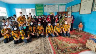 Baksos Peduli Sesama, AMPG Lampung Berikan Sembako Untuk Panti Asuhan di Pesawaran