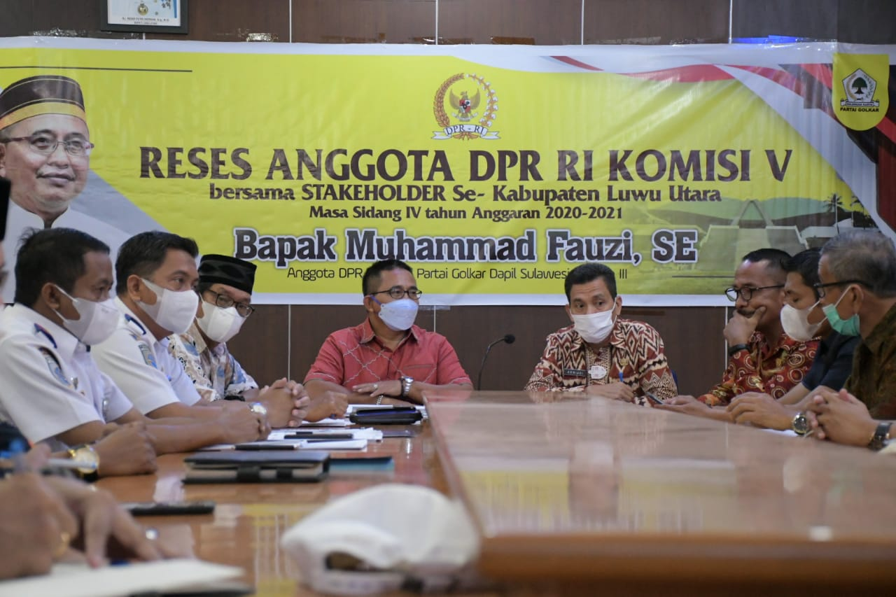 Muhammad Fauzi Dorong Percepatan Pemulihan Pasca Banjir Banjang di Luwu Utara