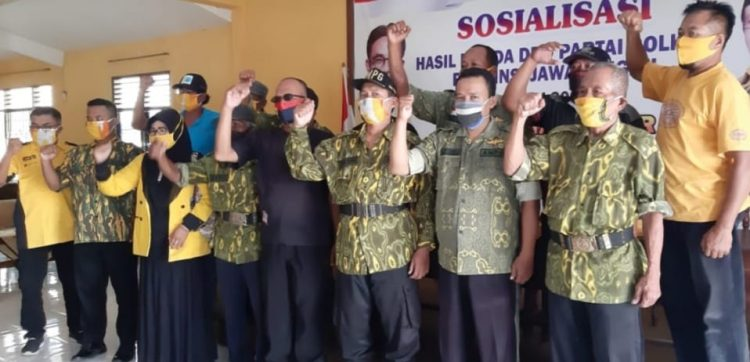 Jadi Tenaga Ahli Fraksi Partai Lain, Ketua AMPG Kabupaten Tegal Didesak Mundur
