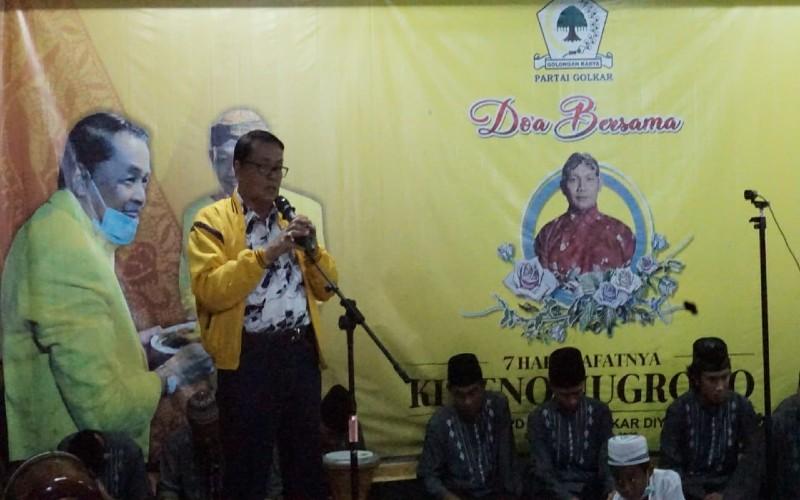 Dipimpin Gandung Pardiman, Golkar DIY Gelar Doa Bersama Untuk Mendiang Ki Seno Nugroho