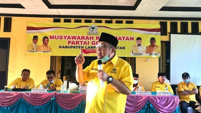 Hadapi Pemilu 2024, Tony Eka Candra Bangkitkan Semangat Kader Golkar Lampung Selatan