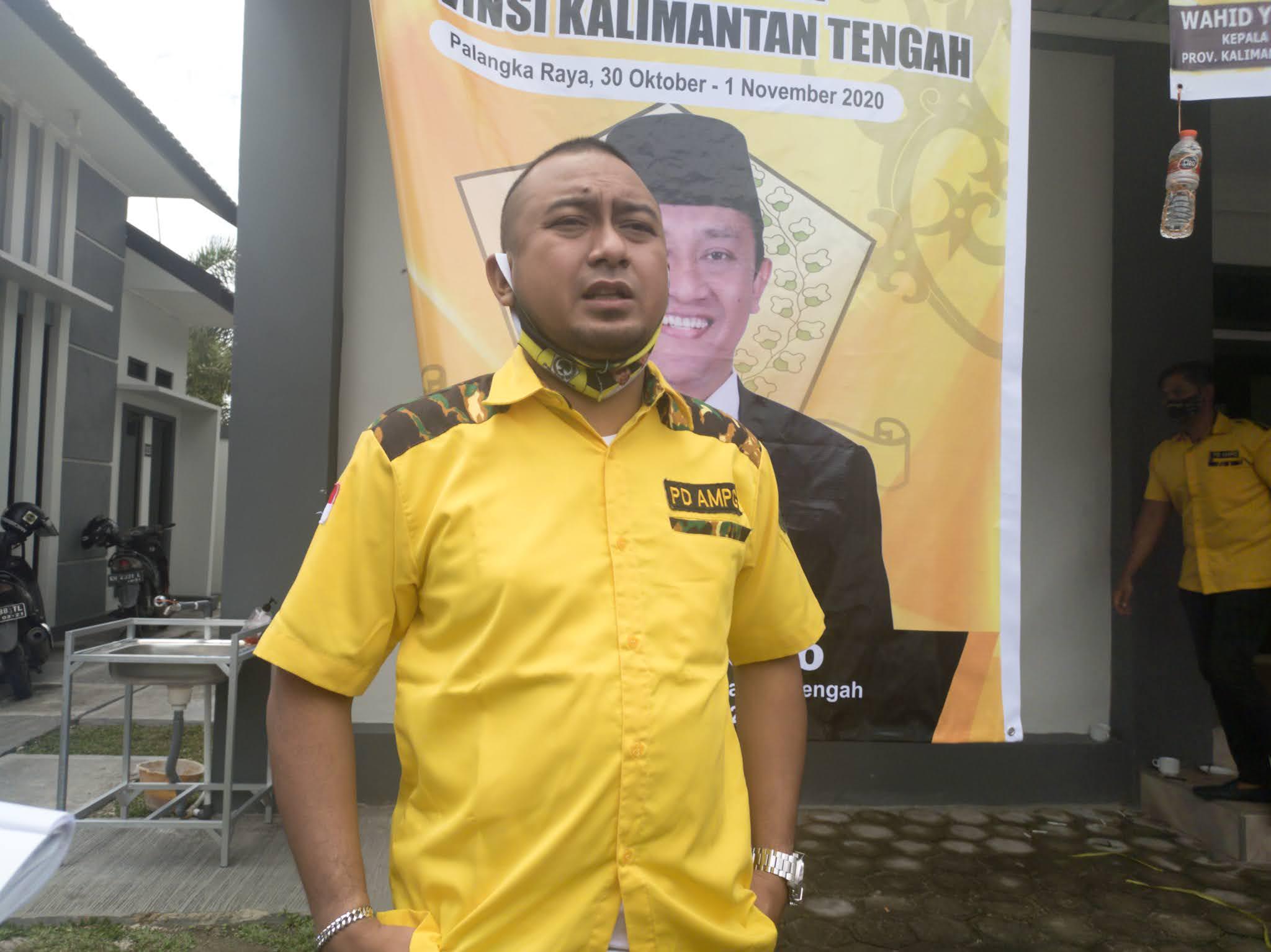 Wahid Yusuf Buka TOT BSN Golkar se-Kalteng