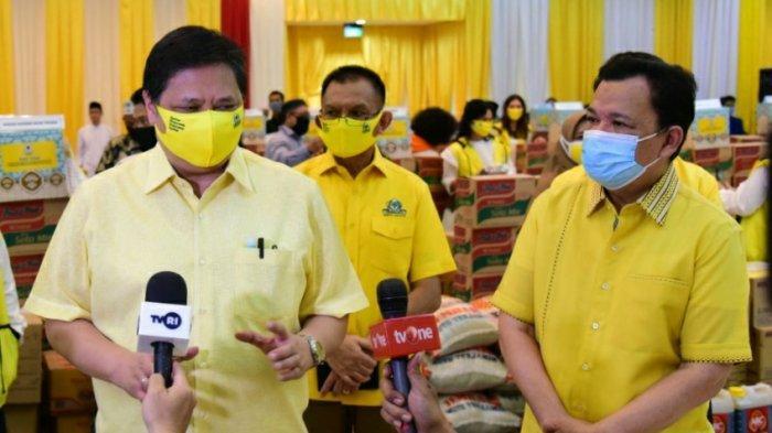 Roem Kono Ungkap Golkar Kirim Ribuan Masker dan APD Ke Daerah Zona Merah COVID-19