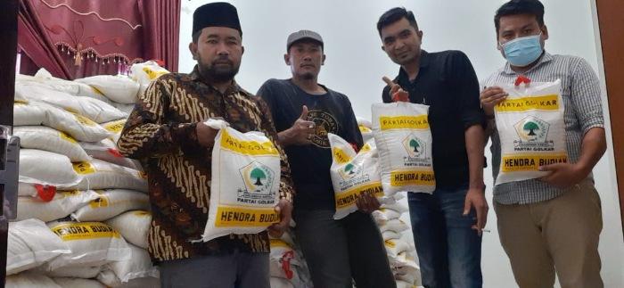 HUT Ke-56 Golkar, Hendra Budian Bagikan 5 Ton Beras Untuk Warga Aceh Tengah dan Bener Meriah