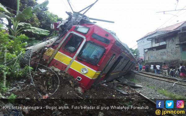 KRL Anjlok Di Bogor, Komisi V DPR Pastikan Segera Panggil Menhub
