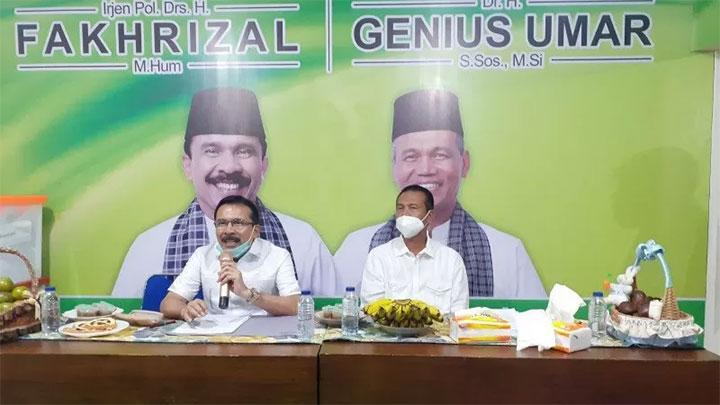 PKB Lengkapi Dukungan Golkar dan Nasdem, Fakhrizal-Genius Umar Jadi Paslon Keempat di Pilgub Sumbar