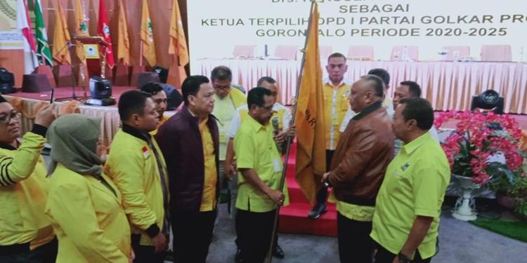 Rusli Habibie Kembali Jabat Ketua Golkar Gorontalo Ketiga Kalinya