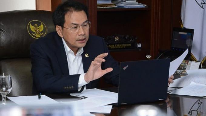 Azis Syamsuddin Minta Polisi Antisipasi Pergeseran Pergerakan Terorisme dari Jawa ke Sumatera