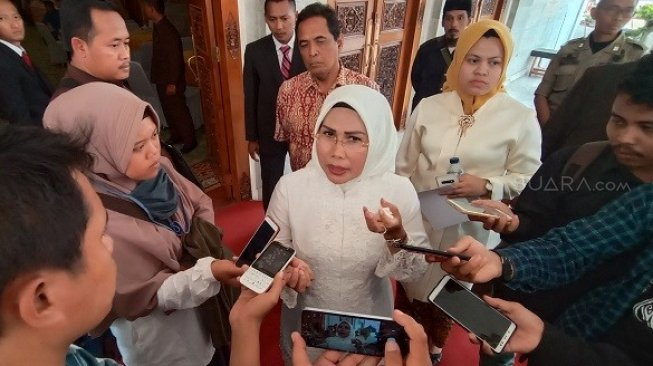 Positif COVID-19, Bupati Ratu Tatu Chasanah Gagal Dampingi Kunjungan Jokowi di Serang