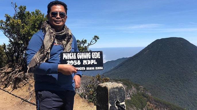 Mahyudin dan Hobi Naik Gunung Yang Tertunda