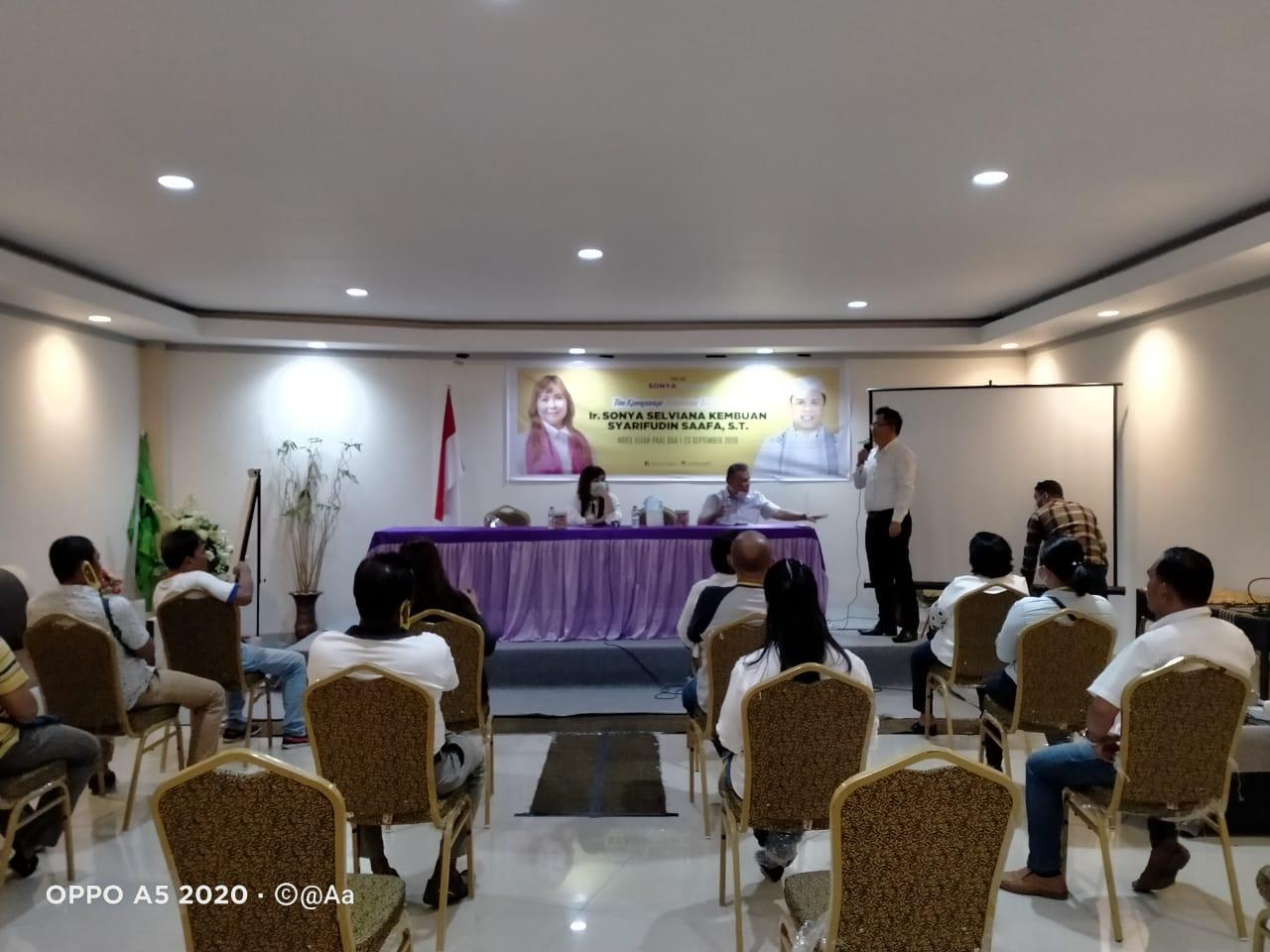 Ormas MKGR Kota Manado Siap Menangkan Sonya Kembuan-Syarifudin Saafa