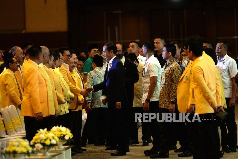 Golkar Minta Jatah Menteri Sebanyak-banyaknya Dari Jokowi