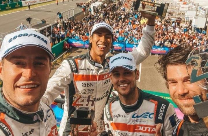 Bamsoet Bangga Sean Gelael Naik Podium Dan Kibarkan Merah Putih Di Ajang Balap Le Mans