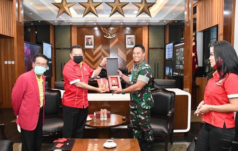 KASAD Jenderal TNI Andika Perkasa Pastikan Hadir di Munas XI SOKSI
