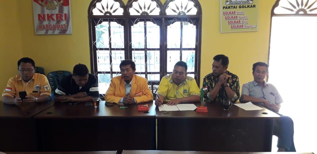 Golkar Humbahas Bantah Sinyal Dukungan Untuk Bupati Dosmar Banjarnahor