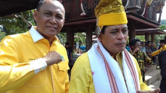 Victor Datuan Batara Belum Tentukan Arah Dukungan Golkar Tana Toraja di Musda Golkar Sulsel