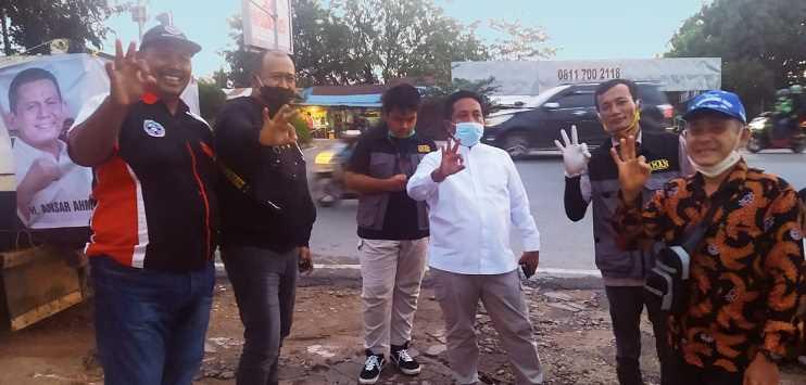 Menangkan Ansar Ahmad-Marlin Agustina, Akhmad Ma'ruf Maulana Terjun Langsung ke Masyarakat