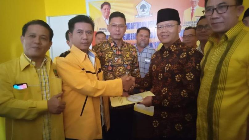 Rohidin Mersyah Ingin Golkar dan PDIP Berkoalisi di Pilkada Bengkulu