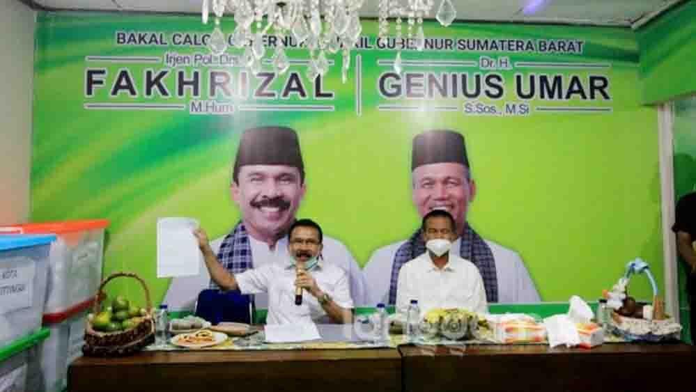 Ini Alasan Golkar Pilih Fakhrizal-Genius Umar Jadi Cagub-Cawagub Sumbar