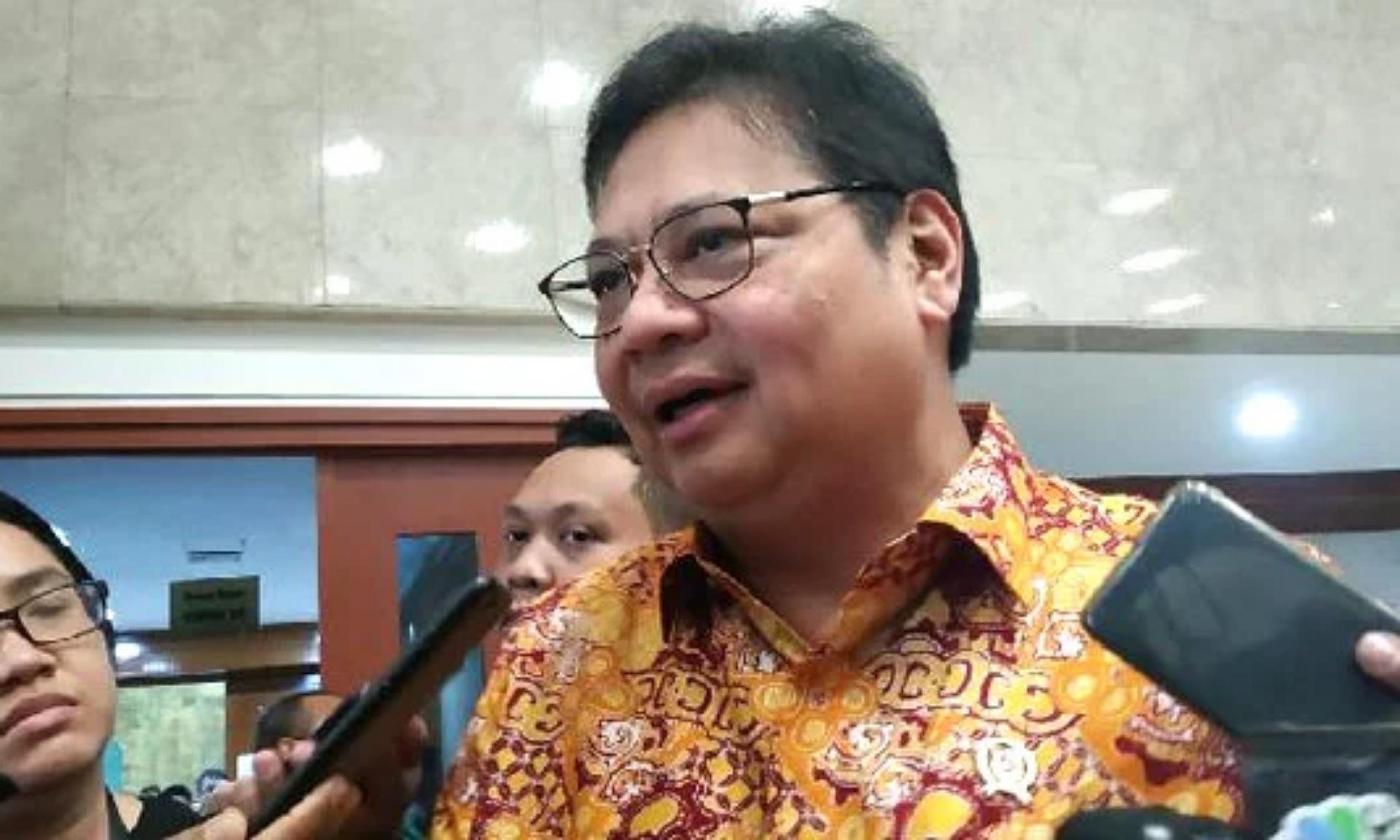 Berisi 2 Ribu Halaman, Menko Airlangga Ungkap Draft RUU Omnibus Law Telah Selesai