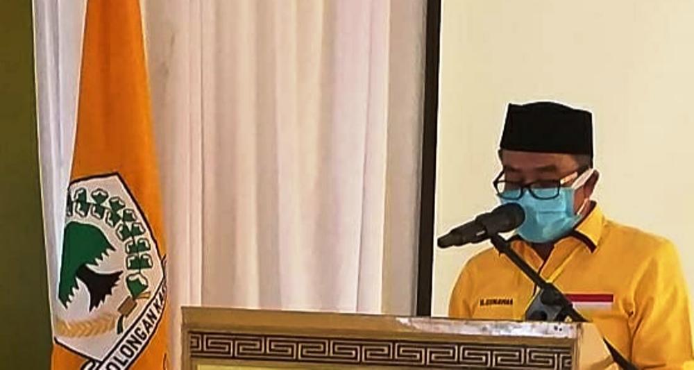 Terpilih Lagi Pimpin Golkar Pandeglang, Gunawan Tancap Gas Menangkan Irna Narulita-Tanto Warsono Arban