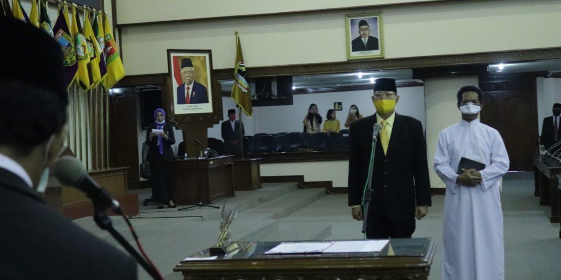 Gantikan Almarhum Samsul Bahri, Anton Lami Suhandi Dilantik PAW DPRD Jateng