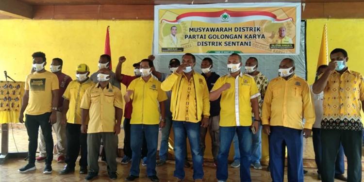Golkar Kabupaten Jayapura Targetkan 10 Kursi DPRD di Pemilu 2024