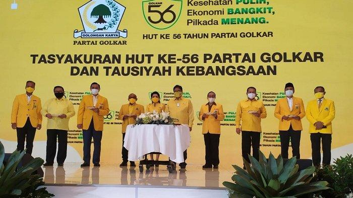 Puncak Perayaan HUT Ke-56, Airlangga Bakal Luncurkan Yellow Clinic dan Golkar Institute