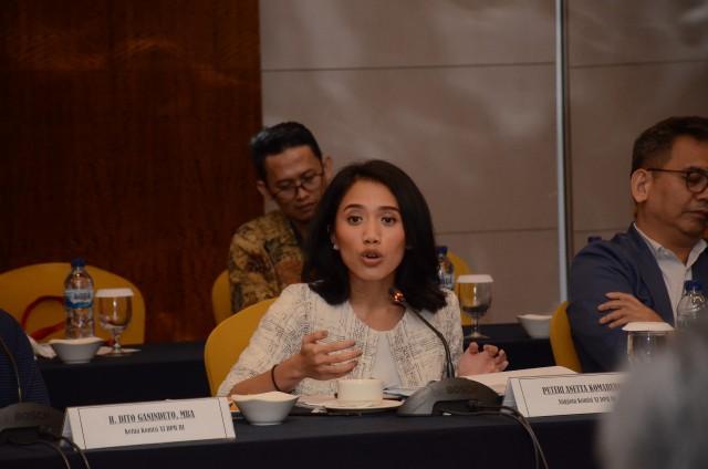 Puteri Komarudin Dorong BI Tarik Minat Eksportir Ikut Perkuat Stabilitas Kurs Rupiah