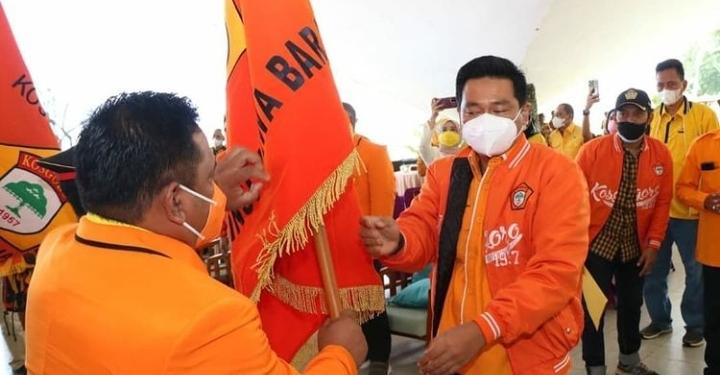 Aria Girinaya Tegaskan Kosgoro 1957 Siap Jadi Pendulang Suara Partai Golkar di Pilpres 2024