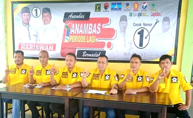 Konsolidasi Internal, Golkar Anambas Siap Menangkan Abdul Haris-Wan Zuhendra