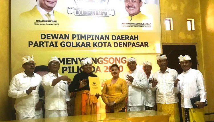 Balon Walikota Dari Golkar, Ngurah Agung Ingin Satukan 3 Puri Segitiga Emas Denpasar