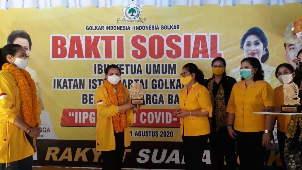 Baksos IIPG, Yanti Airlangga Bangga Ketangguhan Perempuan Bali