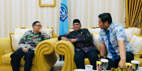 Akbar Tandjung Tegaskan Yang Sah Legal Itu DPP KNPI Haris Pertama dan KNPI Sulsel Arham Basmin