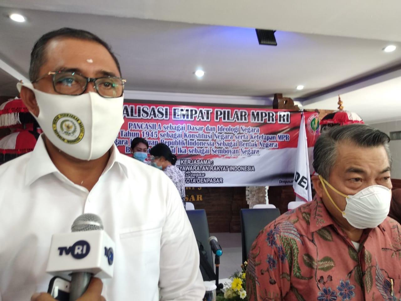 Pancasila Harga Mati, Gus Adhi Terus Kokohkan Empat Pilar Kebangsaan Di Pulau Dewata
