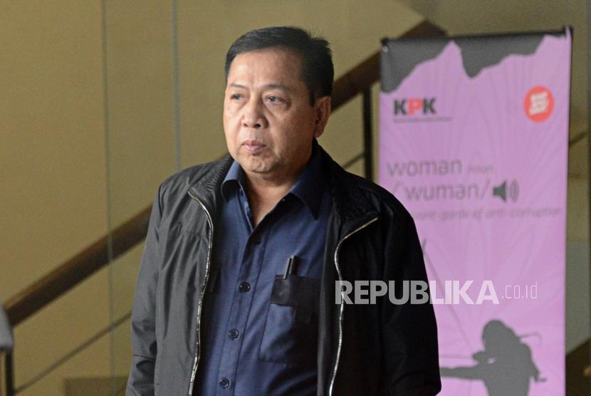 Setya Novanto Hanya Ditahan Sementara Di Rutan Gunung Sindur
