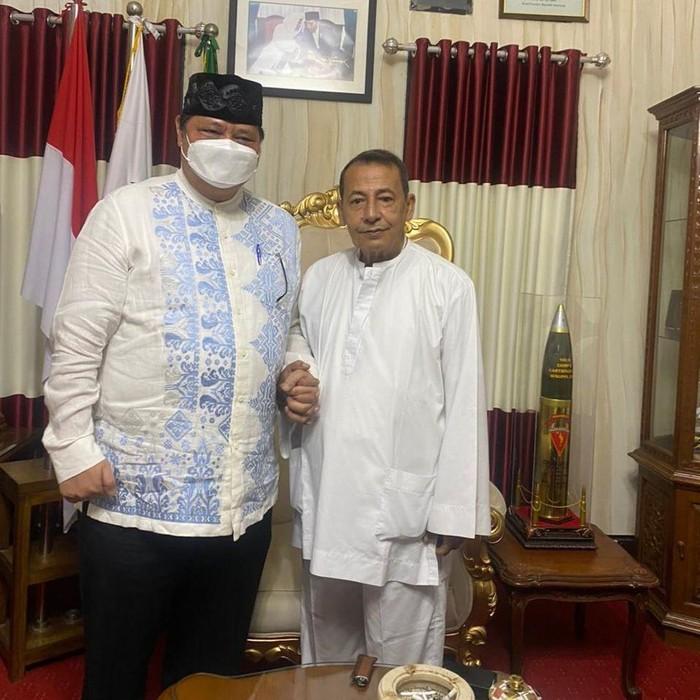 Airlangga Sowan Malam-Malam Ke Habib Luthfi Yahya, Wihaji: Silaturahmi Ke Guru Bangsa