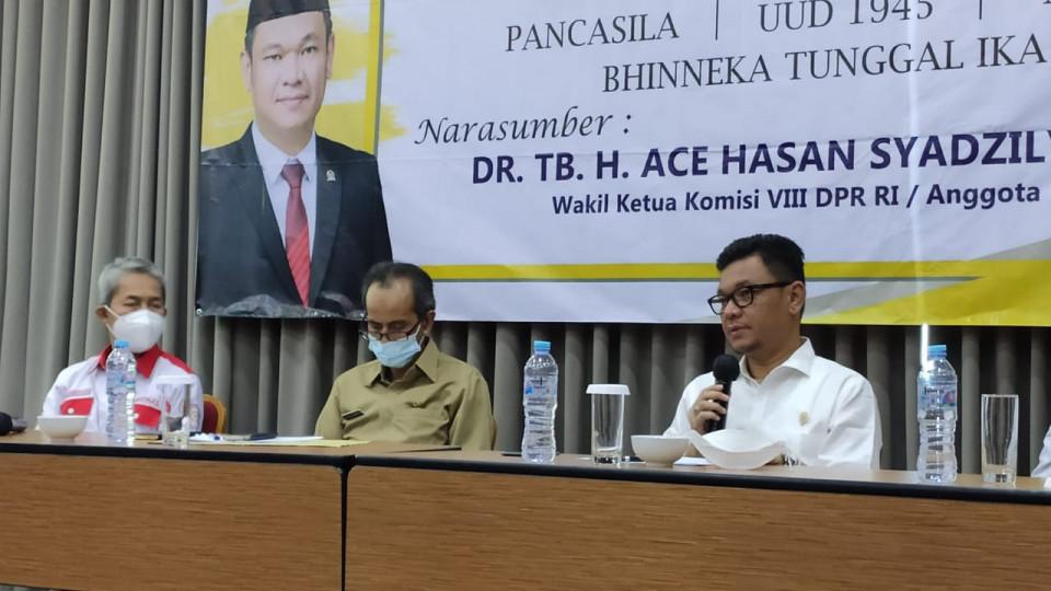 Ace Hasan Ajak BPD Awasi Kinerja Pemerintah Desa Agar Hasilkan Program Bermanfaat Bagi Warga