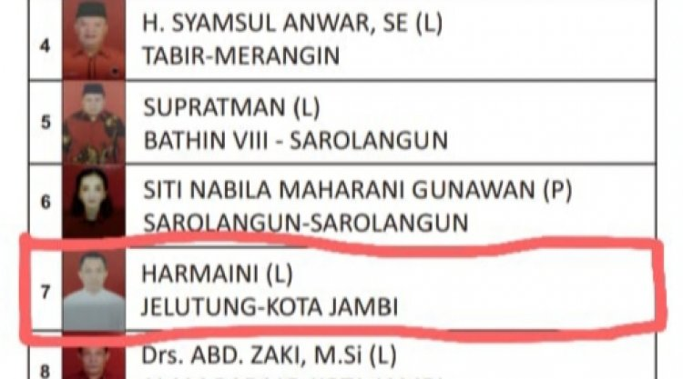 Duh! Golkar Justru Usulkan Eks Caleg PDIP Yang Kalah Jadi Wakil Bupati Merangin
