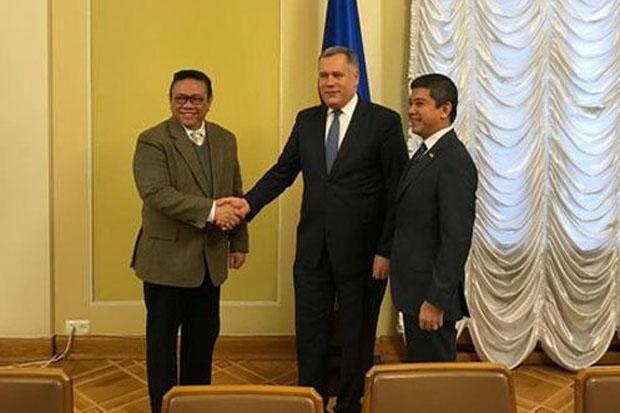 Agung Laksono Harap Kerjasama Indonesia-Ukraina Terus Meningkat